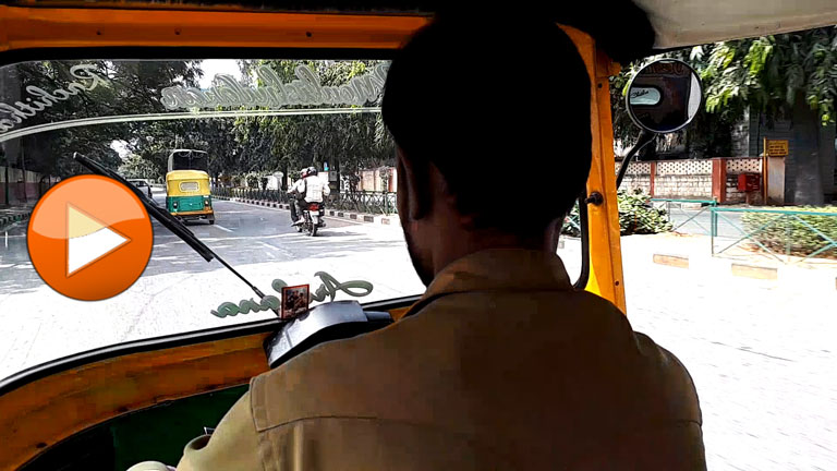 Ride a Tuc Tuc in Bangalore